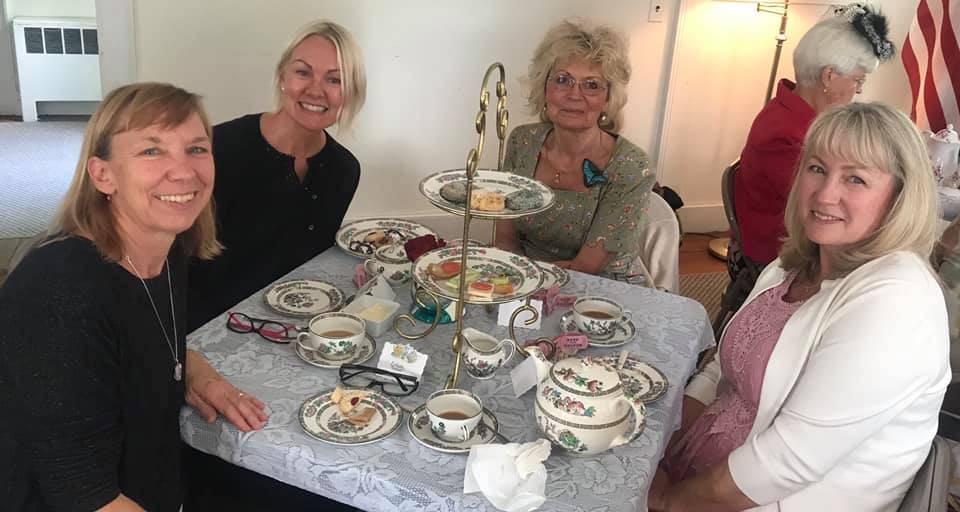 Tea Party at the Talbot County Womens Club
